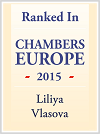 Liliya Vlasova is ranked in Chambers Europe 2015